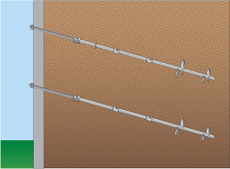 helical wall tiebacks, foundation cracks, foundation repair, foundation crack repair South Dakota